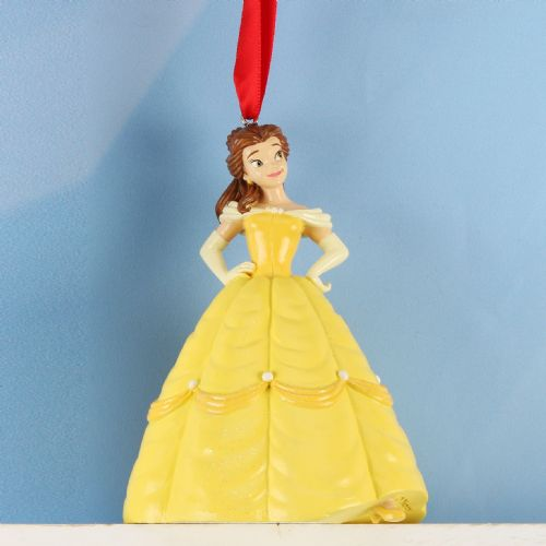 Beauty & The Beast Disney Christmas Tree Ornament Princess Belle